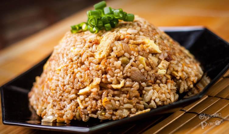 Рис с яйцом по-китайски 1