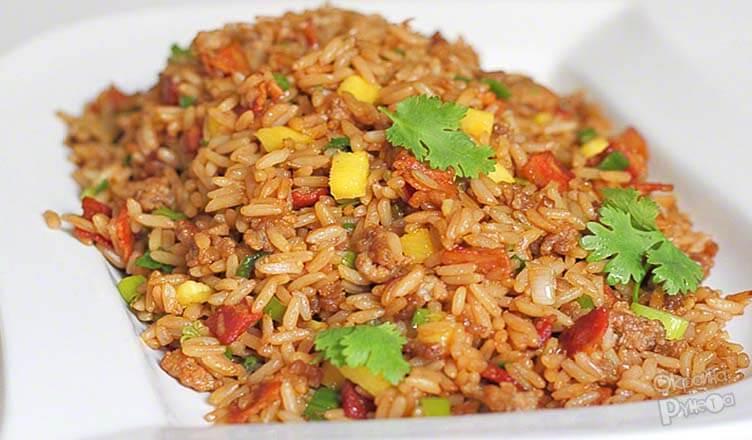 Рис с яйцом по-китайски 4