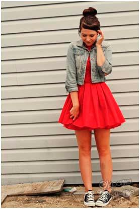 Кросовки и платье 1