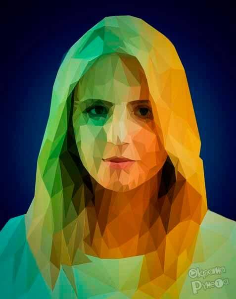 Low Poly портрет 2
