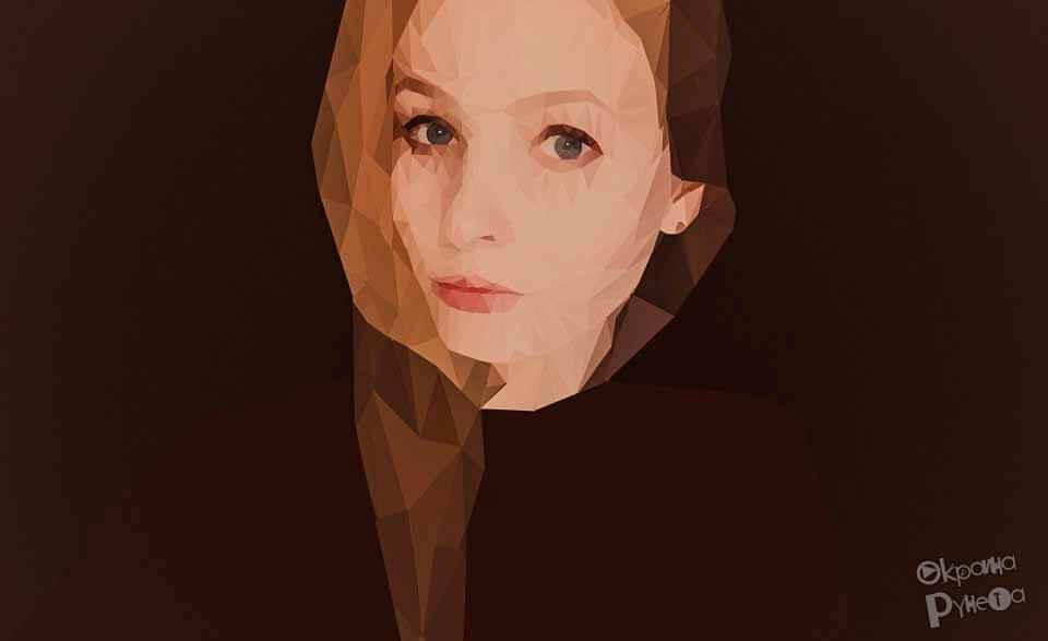 Low Poly портрет 3
