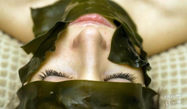 маска для лица из водорослей